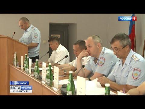 Транспортные полицейские Краснодара отчитались о работе за полгода