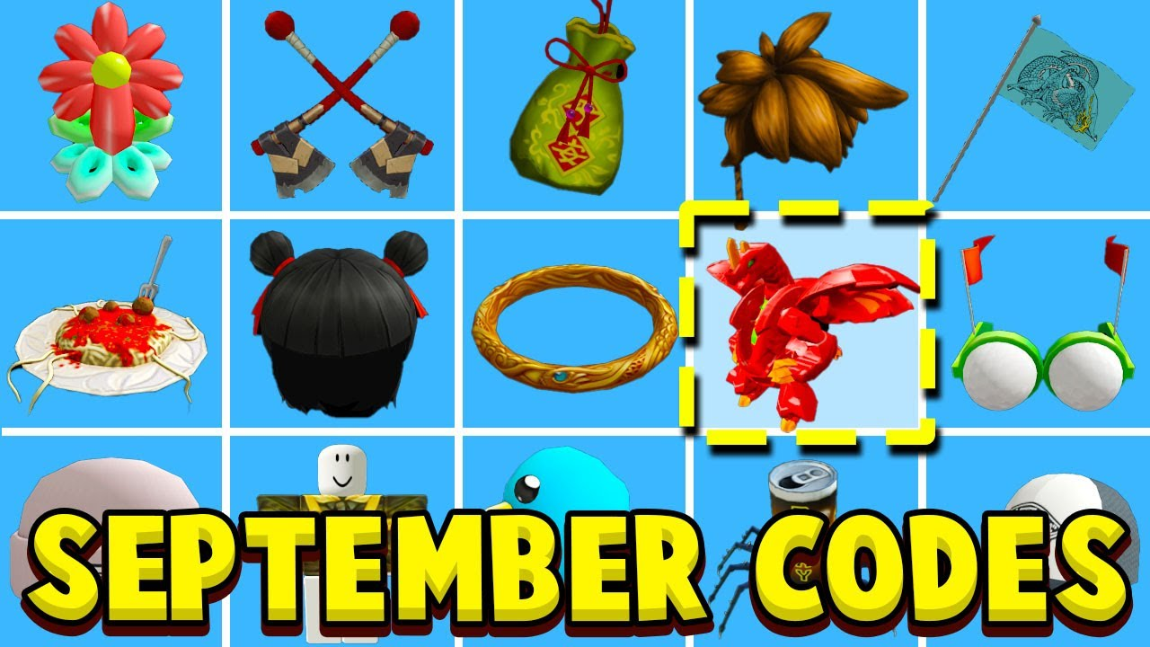 Download ALL NEW SEPTEMBER 2021 ROBLOX PROMO CODES! New Promo Code Working Free Items EVENTS (Not Expired)