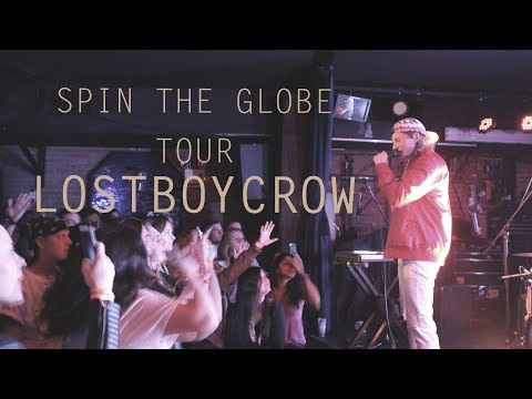 LostBoyCrow: Spin The Globe Tour @ NYC | INTERVIEW