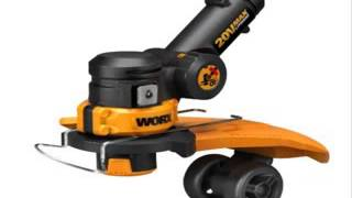WORX WG175 32-volt Lithium MAX Cordless Grass Trimmer and Ed