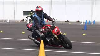 2018 5 20 MSGC Moto Gymkhana Training K-TWO 選手 GSX-R750
