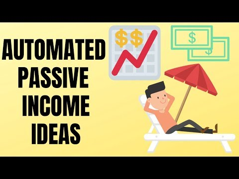 8 Passive Income Ideas That Are Automated
