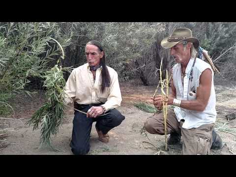 Richard Lonewolf & White Feather on Red Willow