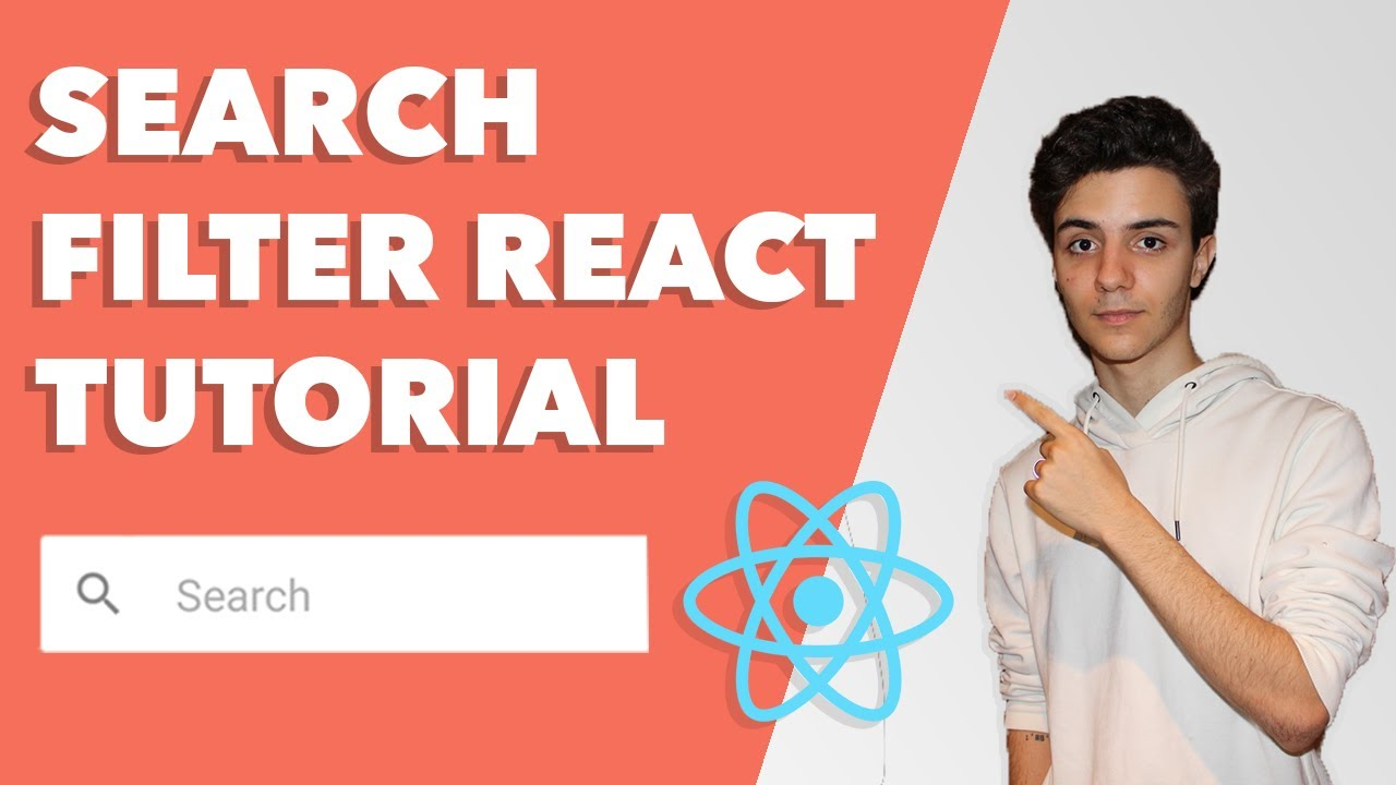Search Filter React Tutorial - Search Bar in React