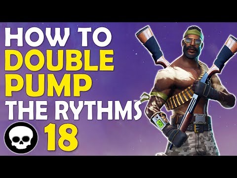 HOW TO DOUBLE PUMP - THE RHYTHMS | DAEQUAN'S OPINION ON GHOST PEEKING - (Fortnite Battle Royale)