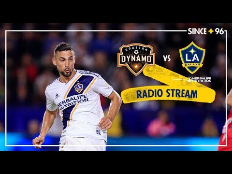 LA Galaxy at Houston Dynamo | Radio Livestream