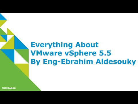 22-Everything About VMware vSphere 5.5 (vNetwork Distributed Switch) By ITSaurus | Arabic