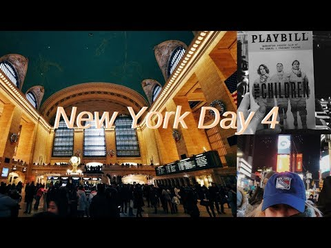 NYC Day 4: a play, grand central station, adventuring