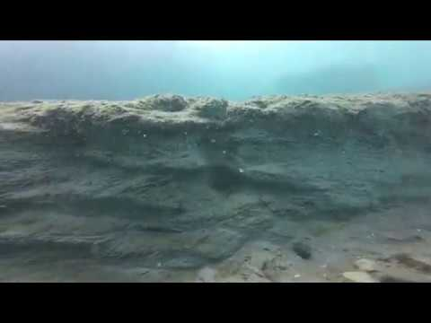 Kenosha Dunes underwater shoreline: Jetty – Sept 19, 2019