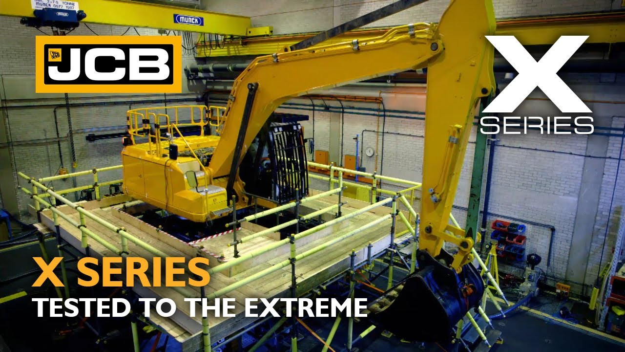 JCB X Series 220X - Tested to the eXtreme.