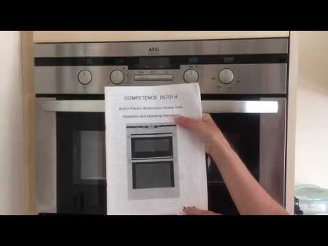 Review Of Aeg Competence D5701 4 Multifunction Double Electric Oven