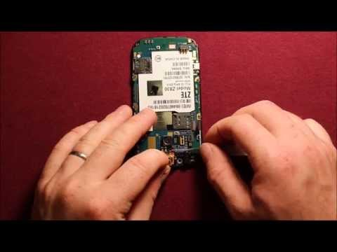 ZTE Compel LCD Screen Replacement Repair How To Change - YouTube