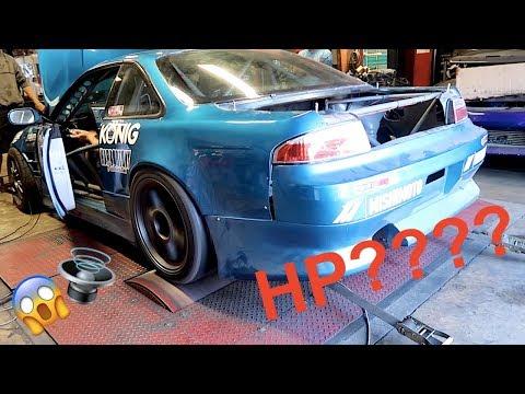MONSTER V8 DRIFT CAR HITS THE DYNO!