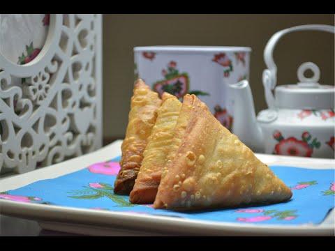 Chicken Veggies Samboosa || رمضان: سمبوسة دجاج بالخضار#
