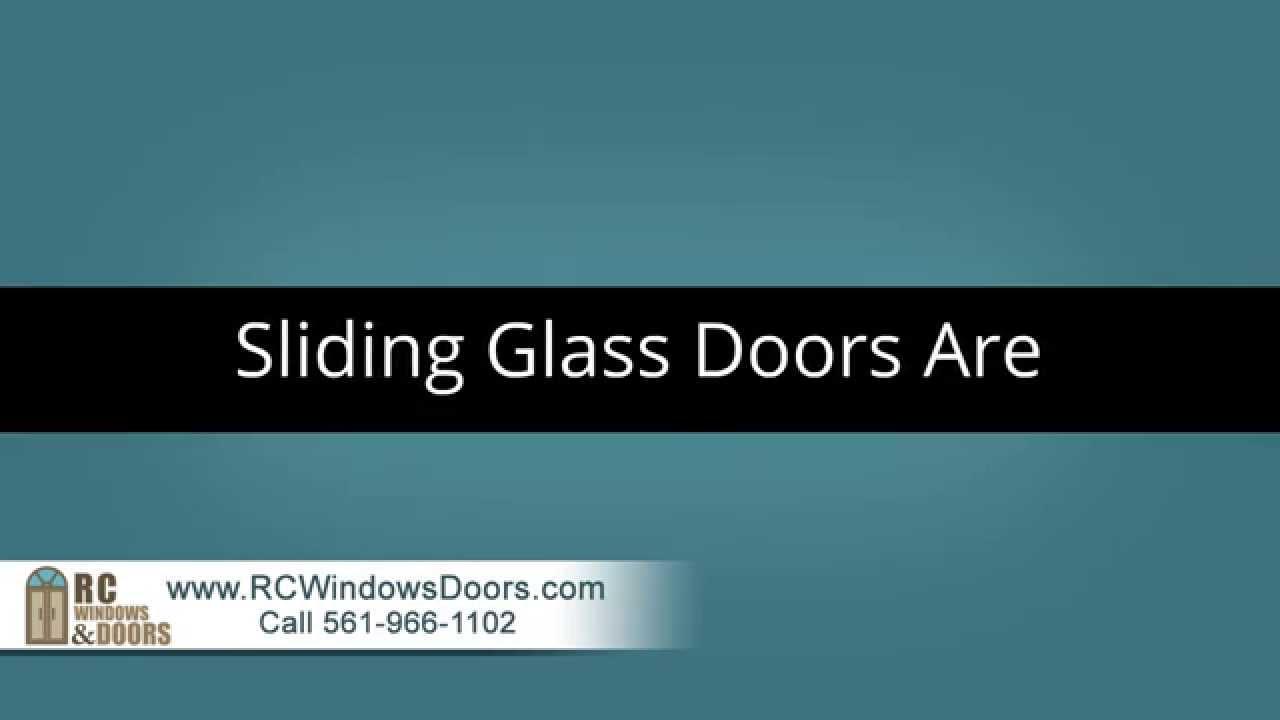 Sliding Glass Door Repair West Palm Beach Youtube