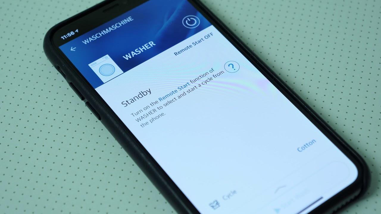 Ausprobiert: lg twinwash mit smart thinq app youtube