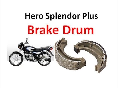 How to Replace Rear Drum Brake Shoe in Motor Cycle |
