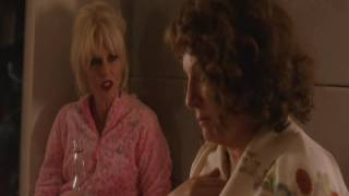 Watch an outtake from Absolutely Fabulous: The Movie