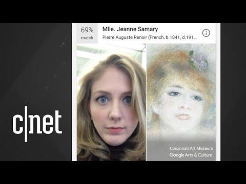 Googles art selfie app wont work in Illinois, Texas