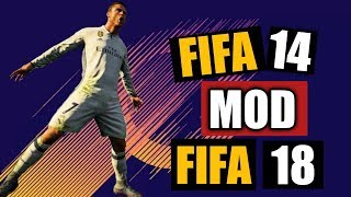 FIFA 14 MOD FIFA 18 Android Offline APK+DATA New Transfers, Kits, Players