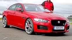 Jaguar XE - Sportlimousine im Test - Fahrbericht 2015