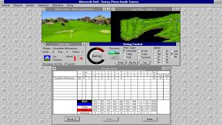 Microsoft Golf (Access Software) (Windows 3.x) [1992]