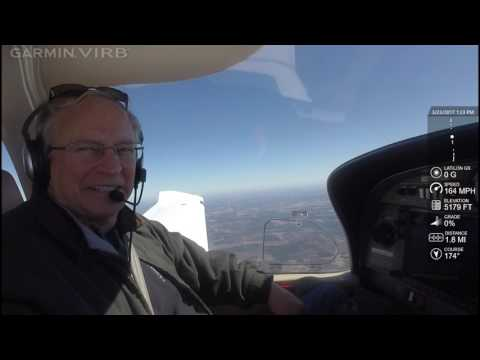 3.23.17 Part II: DA40 Enroute and Landing at Jacksonville OAJ Commercial XC