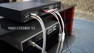 NAD & EMOTIVA качают KEF Q150. Бой стереоусилителей из трех раундов.