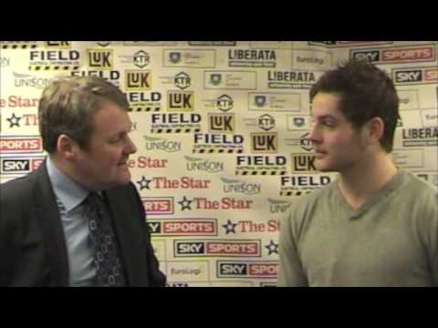 Robert Dowd Post-Game Interview - Panthers, 26/12/2008