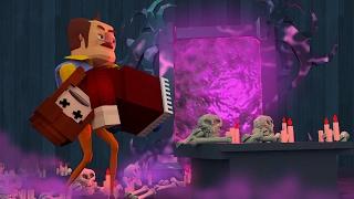 Minecraft - SECRET DEATH PORTAL TO FIND MY WIFE! (Hello Neighbor Finale)