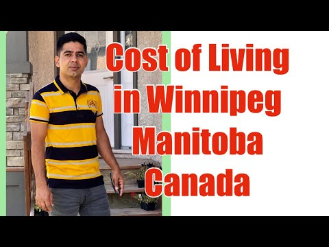 COST OF LIVING IN WINNIPEG MANITOBA CANADA | Monthly Expenses  In Winnipeg Canada