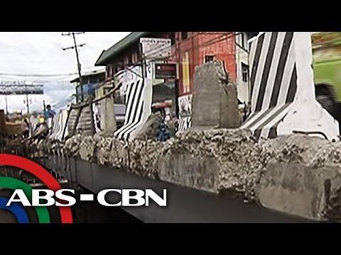 TV Patrol: Tulay na 2 taon nang inaayos ng DPWH, muling inireklamo
