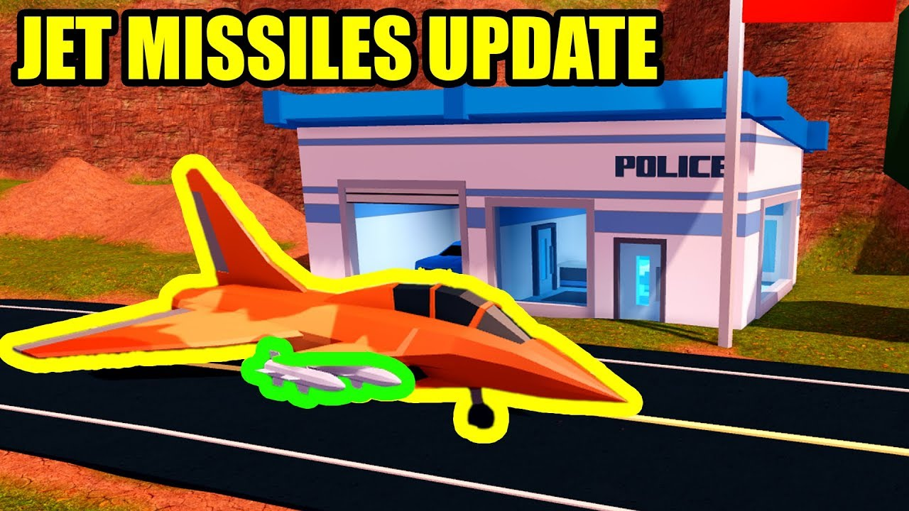 [FULL GUIDE] NEW POLICE STATION and JET MISSILES UPDATE   Roblox Jailbreak  Update New Codes