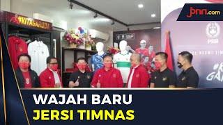 PSSI dan Mills Merilis Jersi Away Timnas yang Sangat Indonesia - JPNN.com
