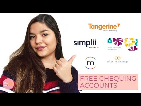 FREE CHEQUING ACCOUNTS IN CANADA   NO-FEE CHEQUING ACCOUNTS