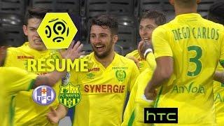Toulouse FC - FC Nantes (0-1)  - Résumé - (TFC - FCN) / 2016-17