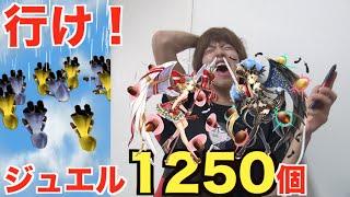 【白猫】ジュエル1250個投入!出でよ!ピーク!プレミオ!