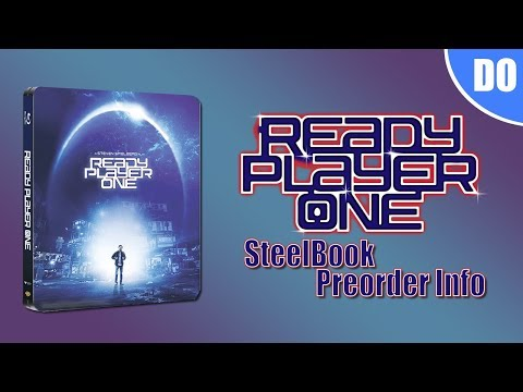 Ready Player One 4K Ultra HD & Blu-ray SteelBook Preorder Info | Best Buy Exclusive