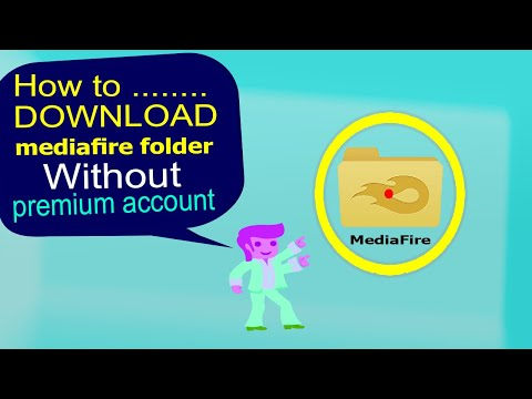 How to download entire Mediafire folder without premuim account