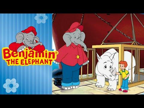 Benjamin the Elephant - The White Rhinoceros FULL EPISODE