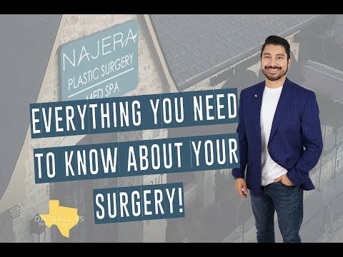 EVERYTHING YOU NEED TO KNOW ABOUT YOUR SURGERY - Pre-Op and Post-Op Instructions from Dr. Dallas