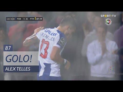 Goal | Golo Alex Telles: FC Porto (1)-0 Portimonense (Liga 19/20 #22)