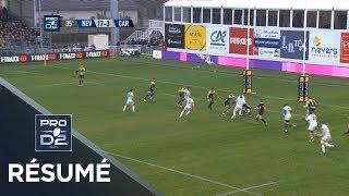 PRO D2 - Résumé Nevers-Carcassonne: 41-10 - J13 - Saison 2018/2019