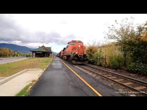 BNSF Northern Transcon (Around Athol,ID)