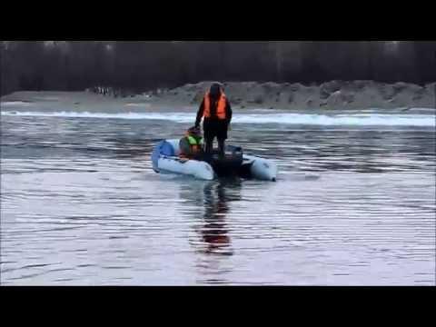Надувная моторная лодка пвх с дном низкого давления Аквилон (Aquilon) 023