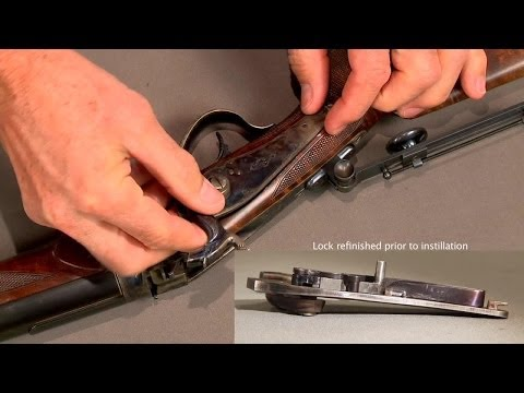 how to fix stripped screw on remington cantilever barrel