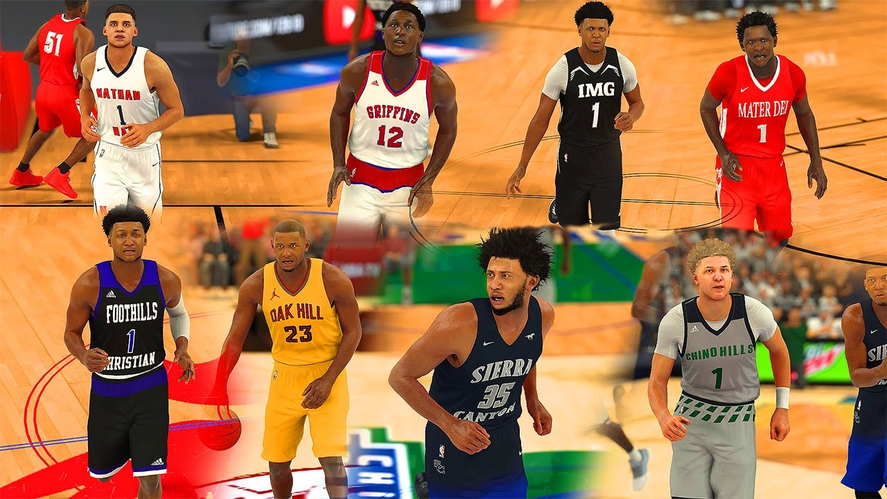 8a734cae0 NBA 2K17 - High School Basketball Roster (PS4) - YouTube