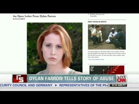 Dylan Farrow tells story of abuse