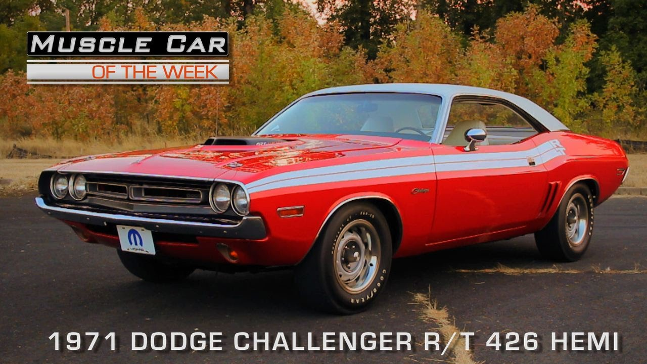 Muscle Car Of The Week Video 118 1971 Dodge Challenger R T 426