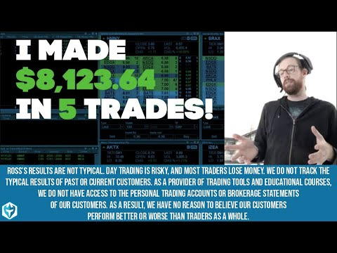 +$8,123.64 on 5 stocks this morning!